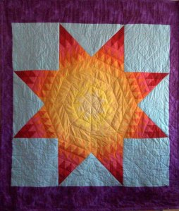 Lakota star quilt