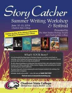 Storycatcher poster