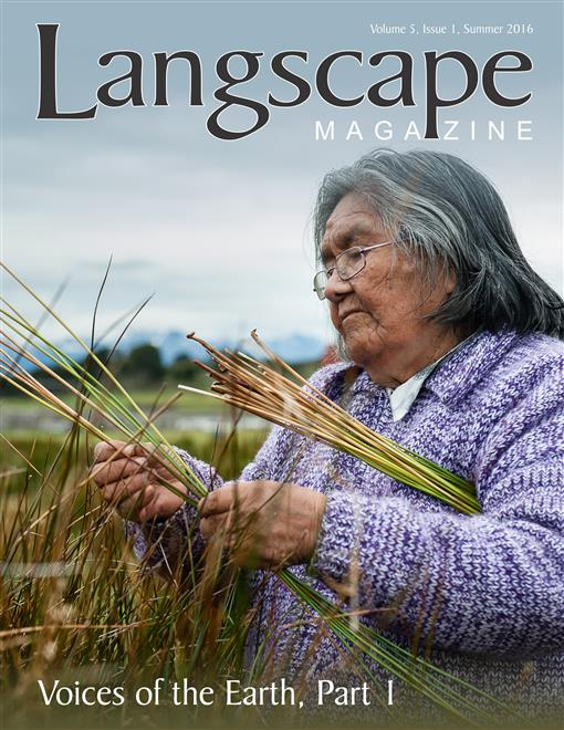 Langscape Volume 5 Issue 1 Cover-small